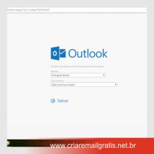 Criar E-mail Grátis Hotmail